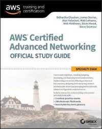 Books Kinokuniya: Aws Certified Advanced Networking Official
