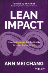 Link to an enlarged image of Lean Impact : Embracing Innovation to Deliver Radically Greater Social Good