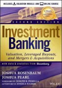 Link to an enlarged image of Investment Banking + Online Course : Valuation Models (2nd Hardcover + Pass Code)