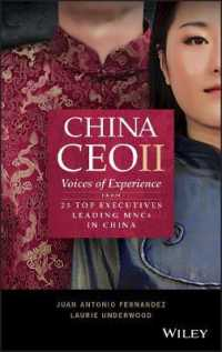 Link to an enlarged image of China CEO II : Voices of Experience from 25 Top Executives Leading MNCs in China