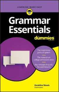 Link to an enlarged image of Grammar Essentials for Dummies (For Dummies (Language & Literature))