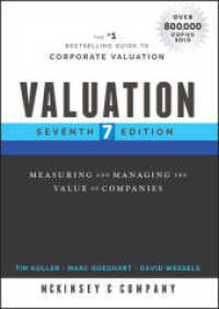 Link to an enlarged image of Valuation : Measuring and Managing the Value of Companies (Wiley Finance) (7th)