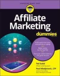 Link to an enlarged image of Affiliate Marketing for Dummies (For Dummies (Business & Personal Finance))