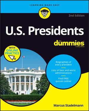 Link to an enlarged image of U.S. Presidents for Dummies (For Dummies) (2nd Paperback + Pass Code)