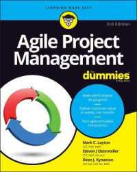 Link to an enlarged image of Agile Project Management for Dummies (3rd)