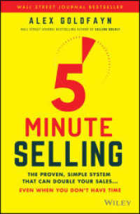 Link to an enlarged image of 5-minute Selling : The Proven, Simple System That Can Double Your Sales... Even When You Don't Have Time