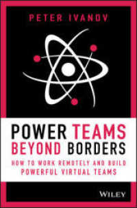Link to an enlarged image of Power Teams Beyond Borders : How to Work Remotely and Build Powerful Virtual Teams