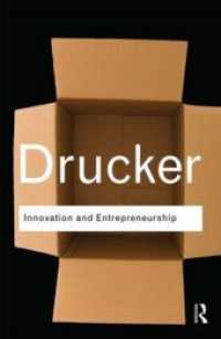 Link to an enlarged image of Innovation and Entrepreneurship (Routledge Classics)