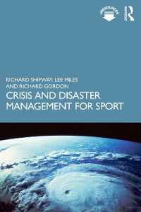 Crisis and Disaster Management for Sport 9781138364592