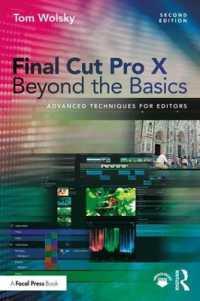 Books Kinokuniya: Final Cut Pro X Beyond the Basics
