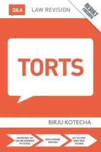 Link to an enlarged image of Q&a Torts (Questions and Answers) (11th Revised)