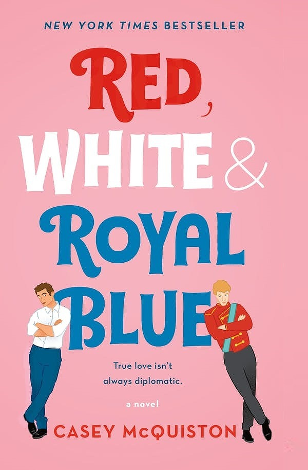 Link to an enlarged image of Red, White & Royal Blue