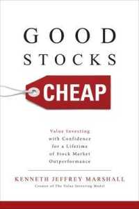 Link to an enlarged image of Good Stocks Cheap : Value Investing with Confidence for a Lifetime of Stock Market Outperformance