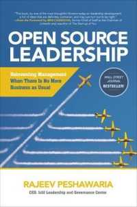 Link to an enlarged image of Open Source Leadership : Reinventing Management When There's No More Business as Usual