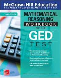 Link to an enlarged image of McGraw-Hill Education Mathematical Reasoning Workbook for the GED Test (3rd CSM Workbook)