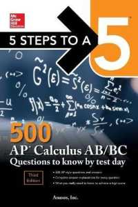 Link to an enlarged image of 5 Steps to a 5 500 AP Calculus AB/BC Questions to Know by Test Day (Mcgraw Hill's 500 Questions to Know by Test Day) (3rd)