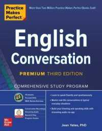 Link to an enlarged image of English Conversation : Comprehensive Study Program (Practice Makes Perfect) (3rd CSM Premium)