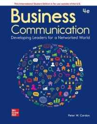 Link to an enlarged image of Ise Business Communication: Developing Leaders for a Networked World -- Paperback / softback (4 ed)