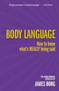 Link to an enlarged image of Body Language : How to Know What's Really Being Said (3rd)
