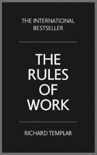 Link to an enlarged image of The Rules of Work : A Definitive Code for Personal Success (4th)