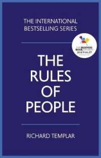 Link to an enlarged image of The Rules of People : A Personal Code for Getting the Best from Everyone