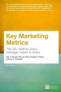 Link to an enlarged image of Key Marketing Metrics : The 50+ Metrics Every Manager Needs to Know -- Paperback (2 New ed)