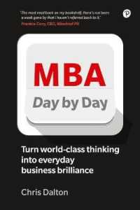 Link to an enlarged image of MBA Day by Day: How to turn world-class business thinking into everyday business brilliance (2ND)