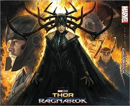 Link to an enlarged image of The Art of Marvel Studios Thor Ragnarok (SLP)