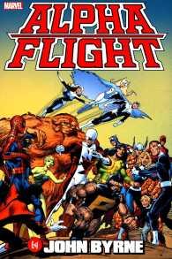 Link to an enlarged image of Alpha Flight by John Byrne Omnibus (Alpha Flight)