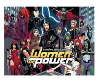 Link to an enlarged image of Heroes of Power : The Women of Marvel Standee Punch-Out Book (ACT CSM)
