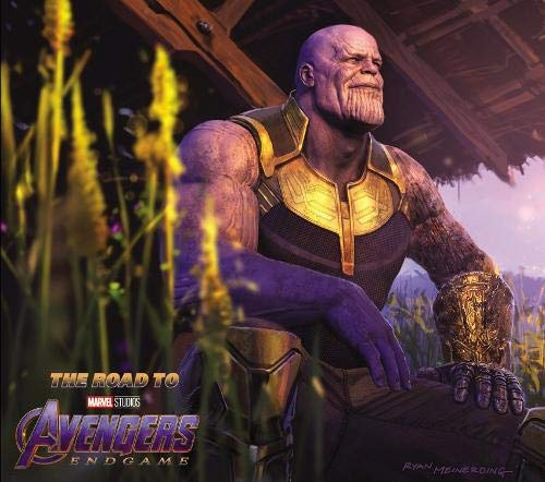 Link to an enlarged image of The Road to Marvel's Avengers Endgame : The Art of the Marvel Cinematic Universe (The Road to Marvel's Avengers) (BOX)