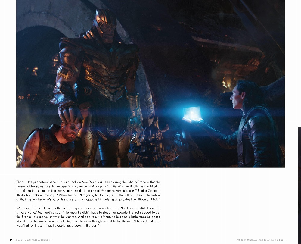 Link to an enlarged 2nd image of The Road to Marvel's Avengers Endgame : The Art of the Marvel Cinematic Universe (The Road to Marvel's Avengers) (BOX)
