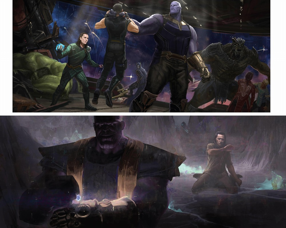 Link to an enlarged 5th image of The Road to Marvel's Avengers Endgame : The Art of the Marvel Cinematic Universe (The Road to Marvel's Avengers) (BOX)