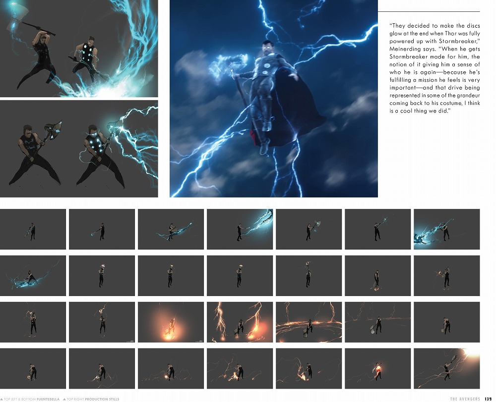 Link to an enlarged 10th image of The Road to Marvel's Avengers Endgame : The Art of the Marvel Cinematic Universe (The Road to Marvel's Avengers) (BOX)