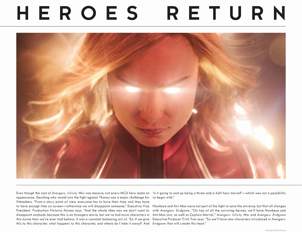 Link to an enlarged 11th image of The Road to Marvel's Avengers Endgame : The Art of the Marvel Cinematic Universe (The Road to Marvel's Avengers) (BOX)