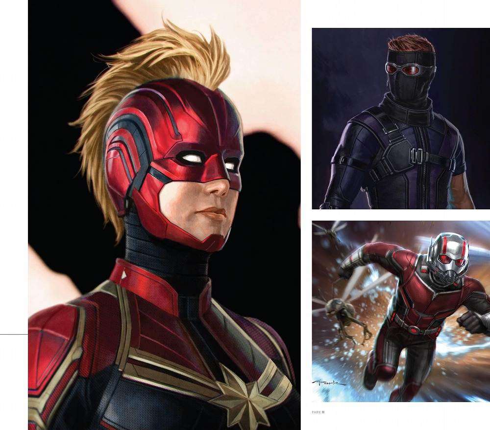 Link to an enlarged 12th image of The Road to Marvel's Avengers Endgame : The Art of the Marvel Cinematic Universe (The Road to Marvel's Avengers) (BOX)