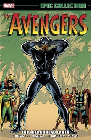 Link to an enlarged image of Avengers Epic Collection This Beachhead Earth 5 : 1970-1972 (Avengers)