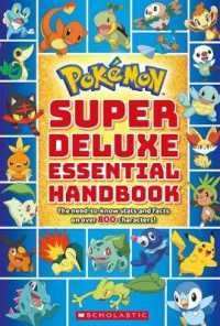 Link to an enlarged image of Pokemon Super Essential Handbook : The Need-to-know Stats and Facts on over 800 Characters (Pokemon) (Deluxe)