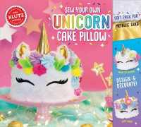 Link to an enlarged image of Sew Your Own Unicorn Cake Pillow (Klutz) -- Mixed media product