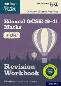 Link to an enlarged image of Oxford Revise: Edexcel Gcse (9-1) Maths Higher Revision Workbook (Oxford Revise) -- Paperback / softback