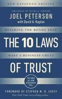 Link to an enlarged image of 10 Laws of Trust : Building the Bonds That Make a Business Great (Expanded)