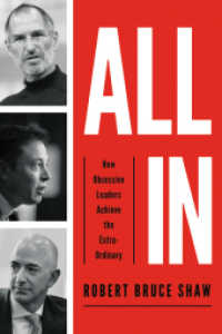 Link to an enlarged image of All in : How Obsessive Leaders Achieve the Extraordinary