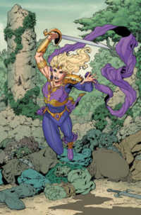 Link to an enlarged image of Sword of Sorcery 1 : Amethyst (Sword of Sorcery)