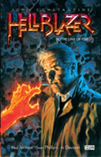 Link to an enlarged image of John Constantine Hellblazer 10 : In the Line of Fire (Hellblazer)