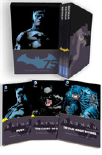 Link to an enlarged image of Batman (3-Volume Set) : The Dark Knight Returns, the Court of Owls, Hush (Batman) (75th BOX Anniversary)