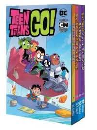 Link to an enlarged image of Teen Titans Go! (4-Volume Set) : Party Party! / Welcome to the Pizza Dome / Mumbo Spirit / Smells Like Teen Titans Spirit (Teen Titans Go!) (BOX)