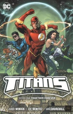 Link to an enlarged image of Titans 1 : Together Forever (Titans) (Reprint)