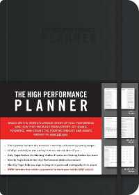 Link to an enlarged image of The High Performance Planner (GJR)