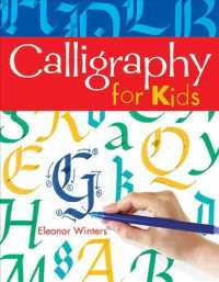 Link to an enlarged image of Calligraphy for Kids (Reprint)