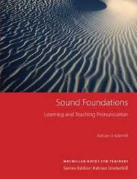 Link to an enlarged image of Sound Foundations: English Pronunciation (Methodology S.)